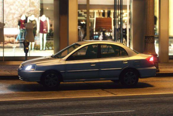 Kia Rio 2002 GTA 5