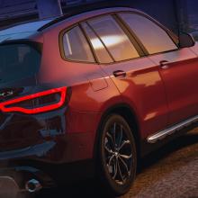 BMW X3 2019 gta v addon