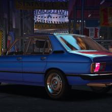 BMW E12 1981 gta v addon