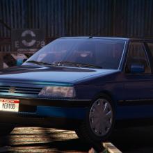 Peugeot 405 SR gta v addon