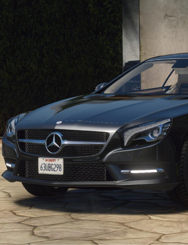 Mercedes Benz sl500 2013