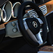 Mercedes Benz E 2014 gta v addon