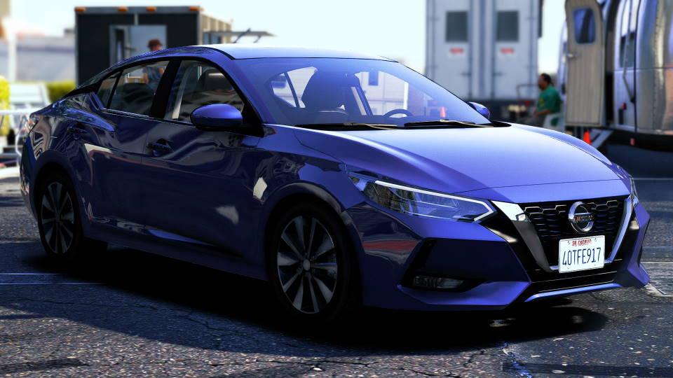 Nissan Sentra 2020 gta 5
