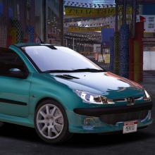 Peugeot 206 CC Gta V add-on