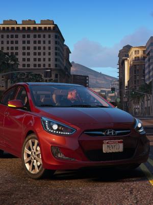 Hyundai Accent 2014 gta v addon