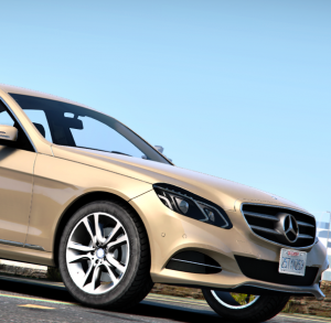 Mercedes Benz E 2014 gta v addon