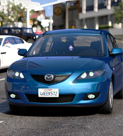 Mazda 3 2007 gta v addon