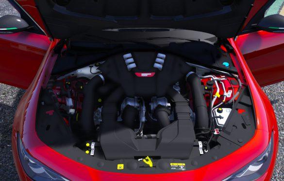 Alfa Romeo Giulia 2021 gtam engine