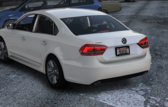 Volkswagen Passat 2012 gta v