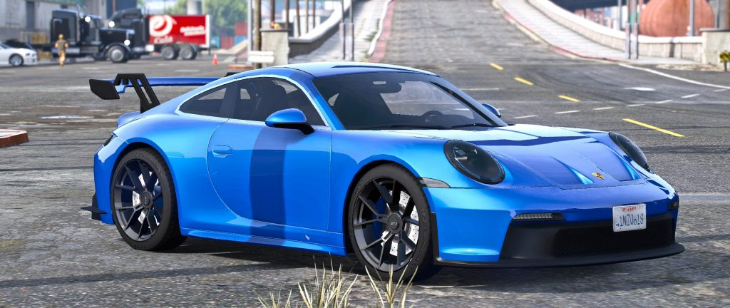Porsche 911 gt3 gta 5