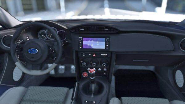 Subaru BRZ tS 2020 interior