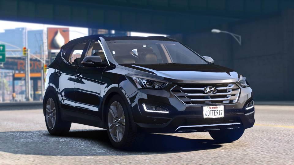 Hyundai santa fe 2015 gta
