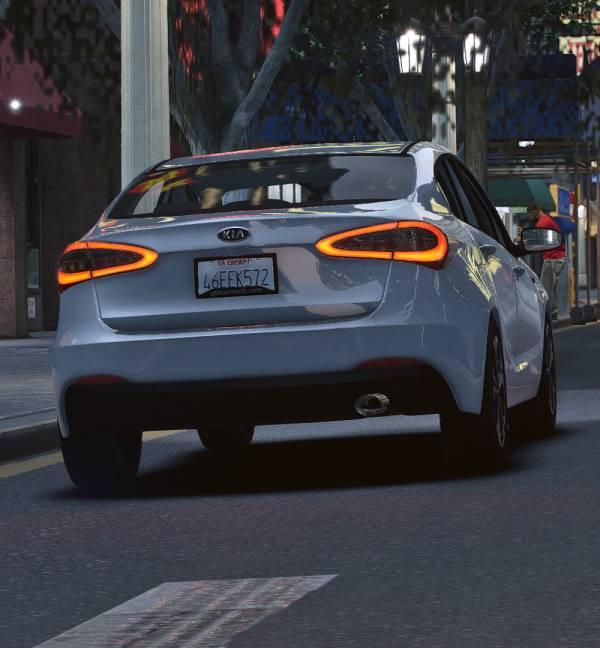 Kia Cerato 2014 GTA 5