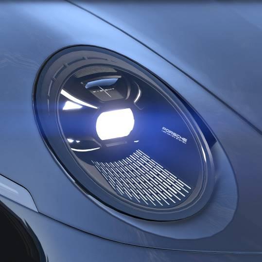 Porsche 911 Targa 2022 GTA 5 LED MATRIX