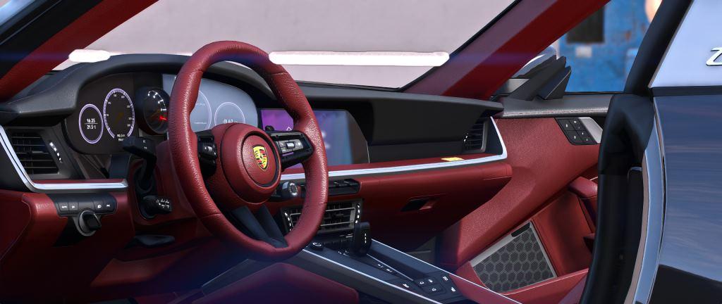 Porsche 911 Targa 2022 GTA 5 interior