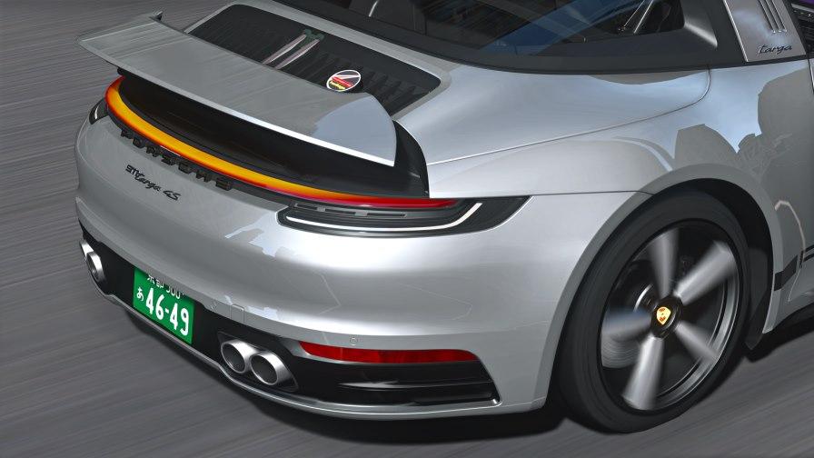 Porsche 922 targa gta 5