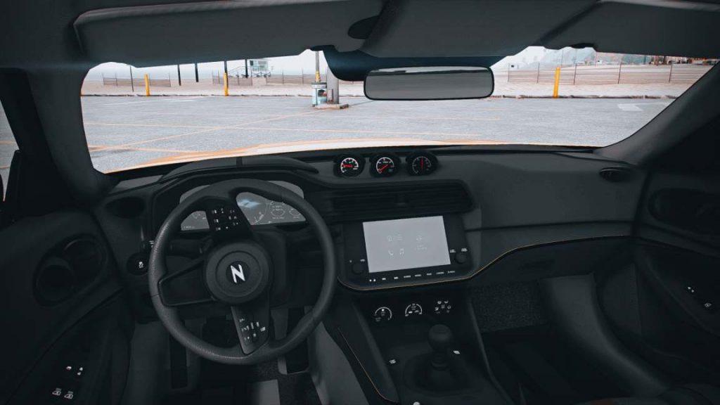 Nissan 400z interior