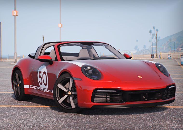 Porsche 911 Targa 2022 GTA 5