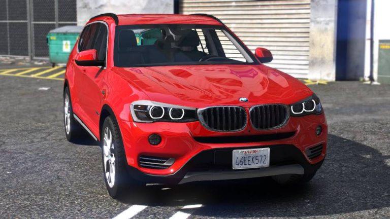 BMW X3 2016 GTA 5