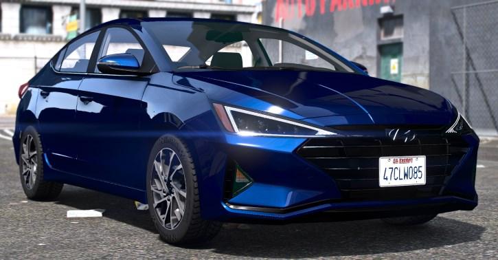 Hyundai Elantra 2019 GTA 5