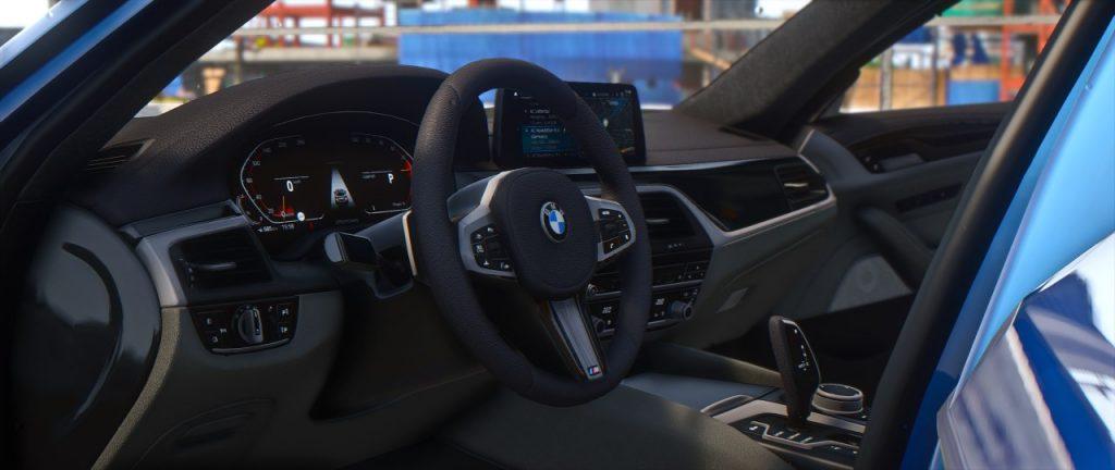 bmw g31 interior
