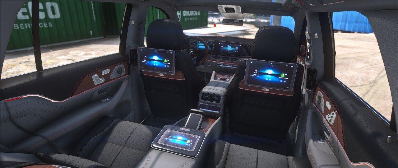 Mercedes Benz Maybach Gls 600