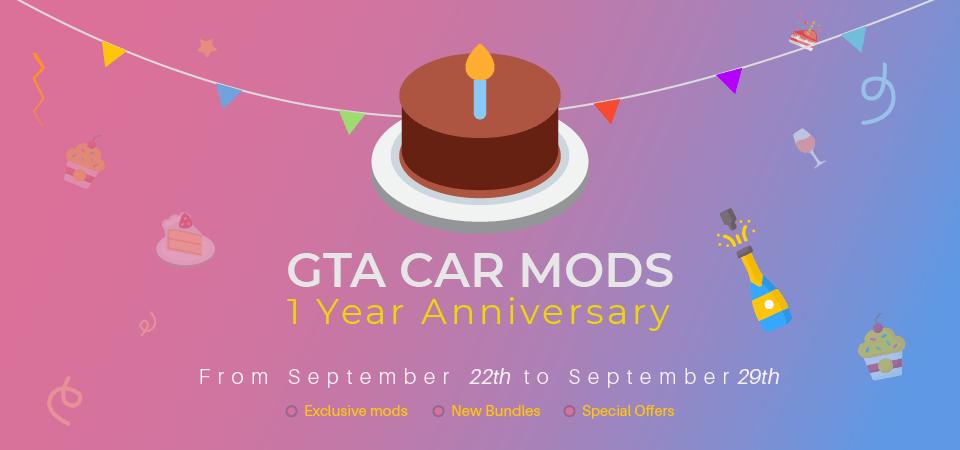 GCM 1 Year Anniversary Promo
